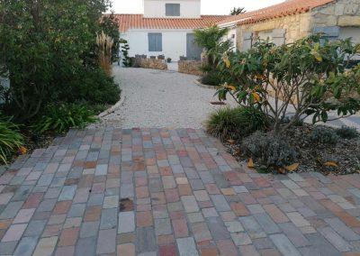 Terrasse, patio et entrée aménagée